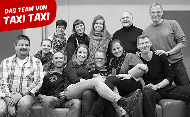 Das Team von Taxi Taxi